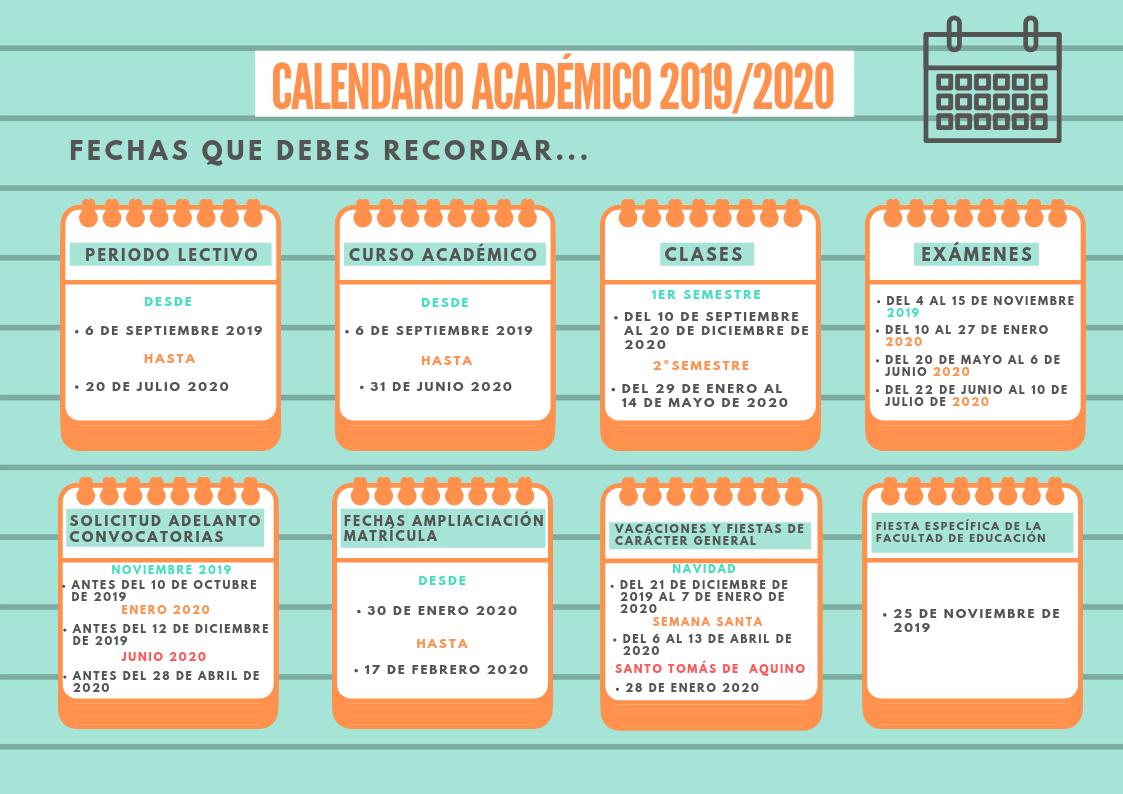 Calendario 2020trackidsp 006.Ini Portal De La Uex Bienvenido A La Universidad De