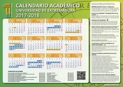 Calendario Uex.Calendario Portal De La Uex Bienvenido A La Universidad De