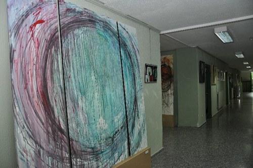 Obras de la exposición Arte y Educación