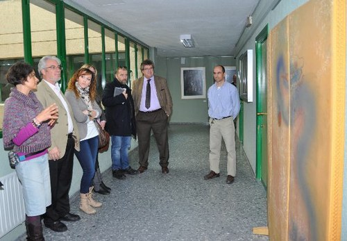 Inauguración de la exposición Arte y Educación