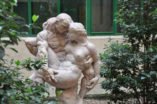 Una de las obras de la exposición Arte y Educación