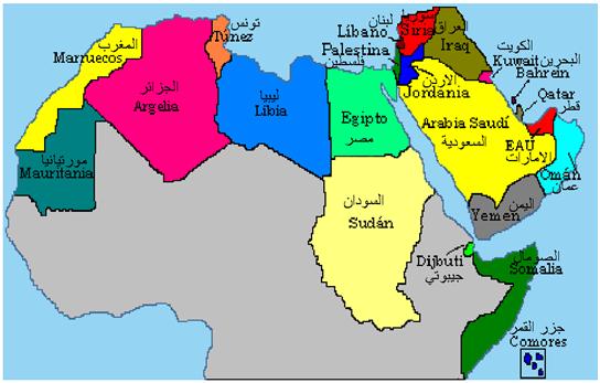 El factor económico de los países de la Liga Árabe influye