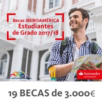 preview Cartel Becas Santander Iberoamérica 2017/18