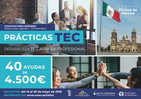 Cartel Prácticas TEC 2019/20