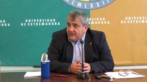 Rector UEx, Antonio Hidalgo