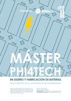 Máster Phi4tech en Diseño y Fabricación de Baterías